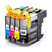 Compatible Cartridge Set for Brother LC223, 4 Cartridge Set.