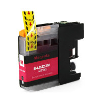 Compatible Cartridge for Brother LC223 Magenta Ink Cartridge - XL.